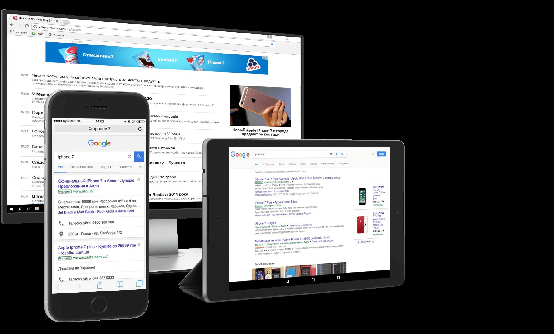адвордс, банерна реклама, інтернет реклама, контекстна реклама, контекстна реклама google